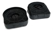 Carbon Filters, Set of 2 pcs, 210x190MM, h 56MM, for Whirlpool Indesit Cooker Hoods - 484000008577