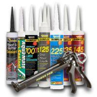 Sealants,  adhesives + Protectors Spray or Tubes